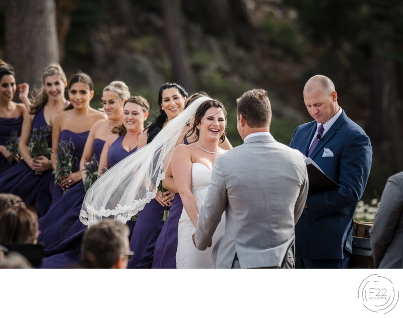 Top Lake Tahoe Photographer Zephyr Lodge: Ceremony
