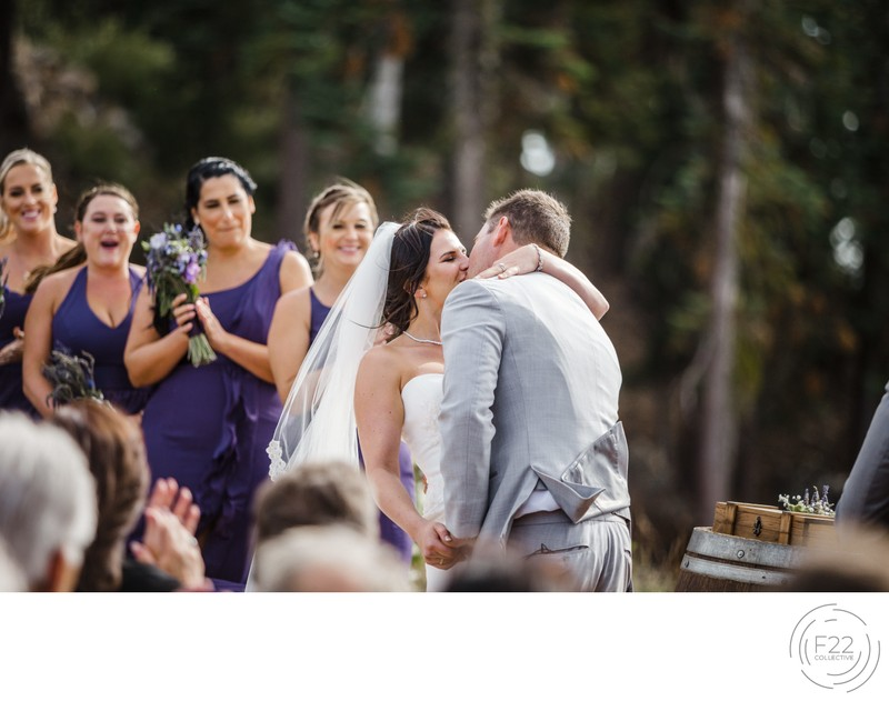 Lake Tahoe Wedding Photograph Zephyr Lodge: Ceremony