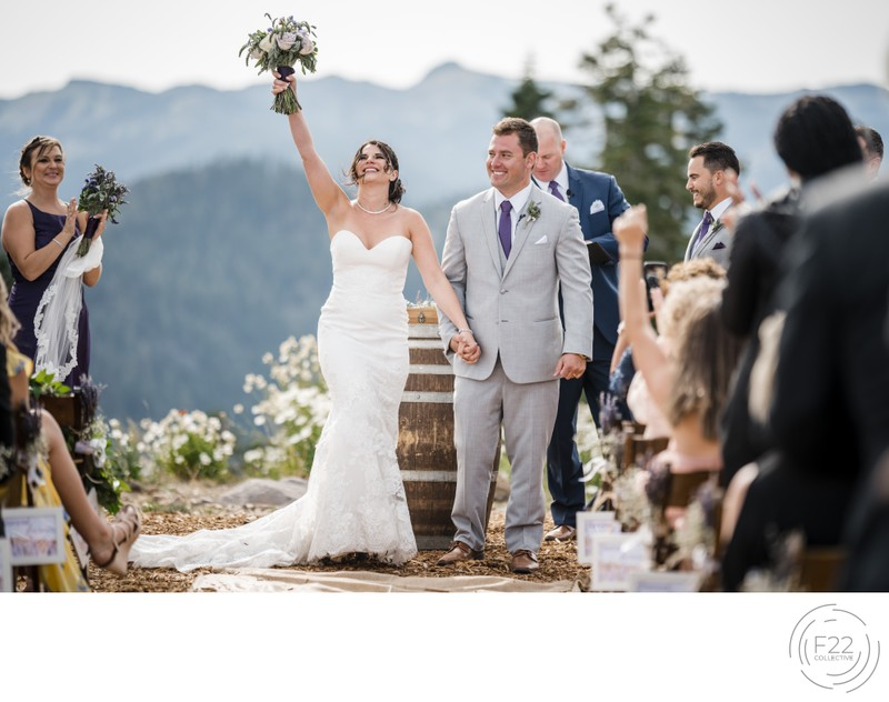 Lake Tahoe Wedding Photography Zephyr Lodge: Ceremony