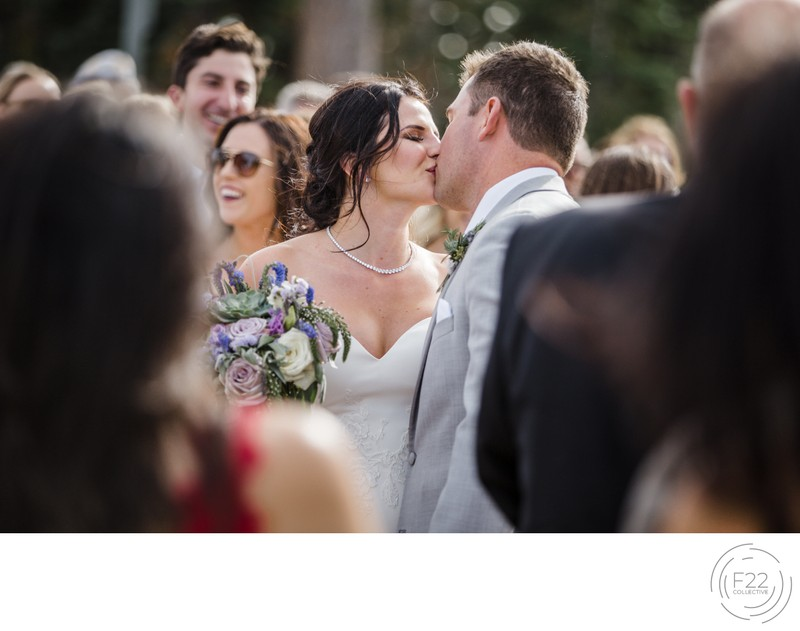 Lake Tahoe Wedding Photographer Zephyr Lodge: Ceremony