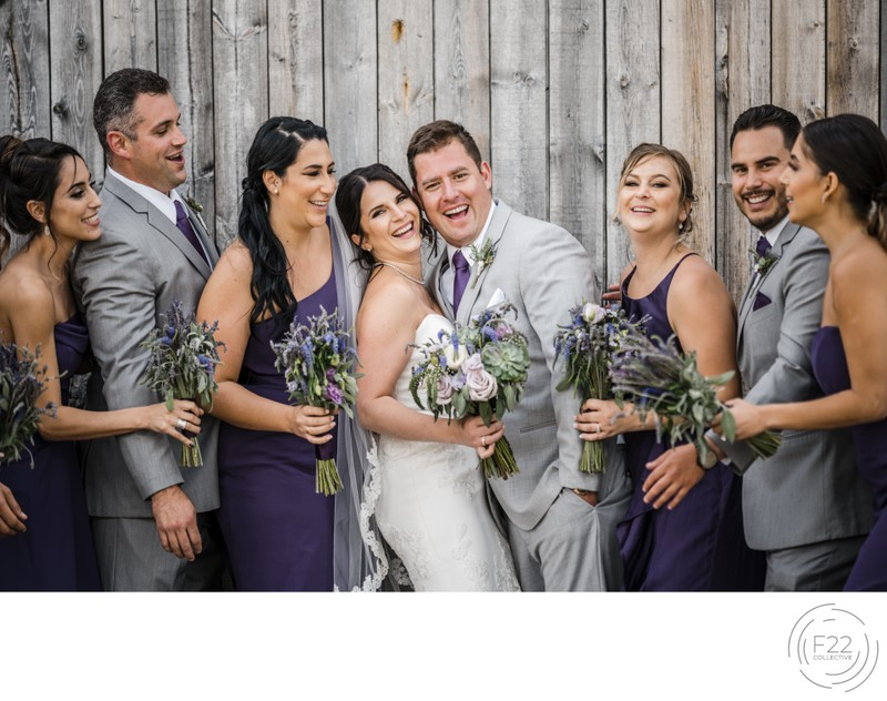 Best Lake Tahoe Wedding Photographers: Wedding Party
