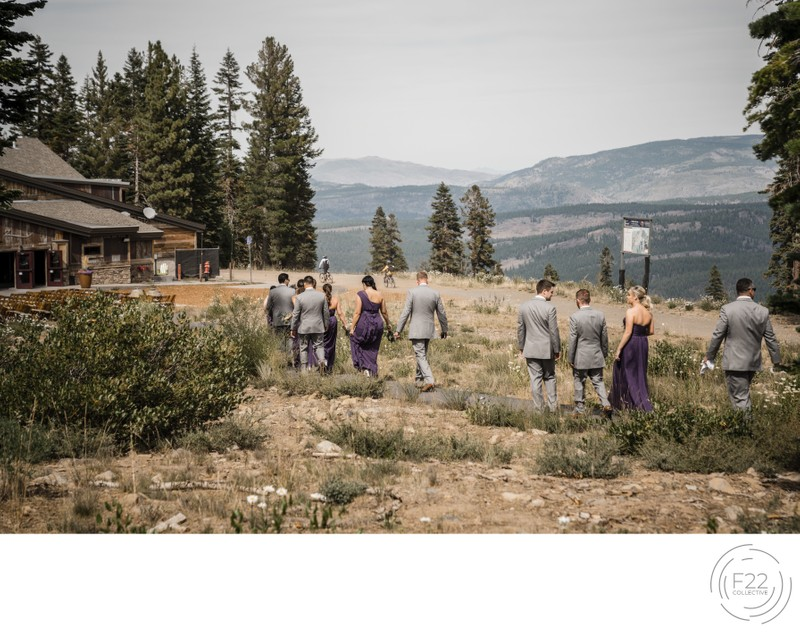 Best Lake Tahoe Wedding Photographer: Wedding Party