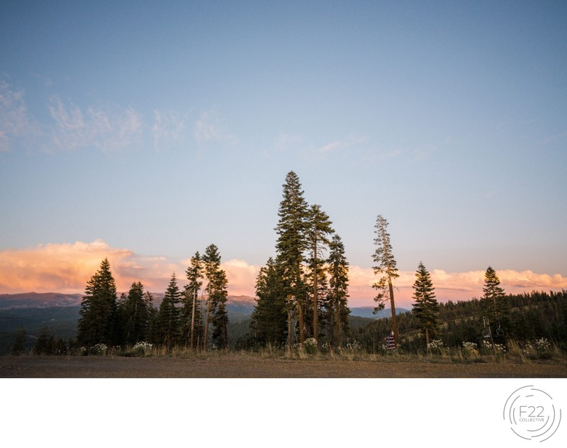 Top Zephyr Lodge Wedding Photographer: Sunset