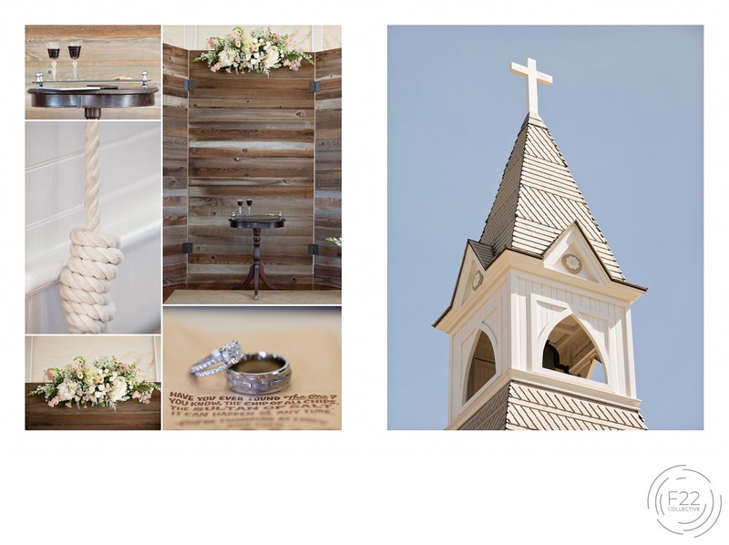 Old St. Mary's Chapel in Rocklin Intimate Wedding