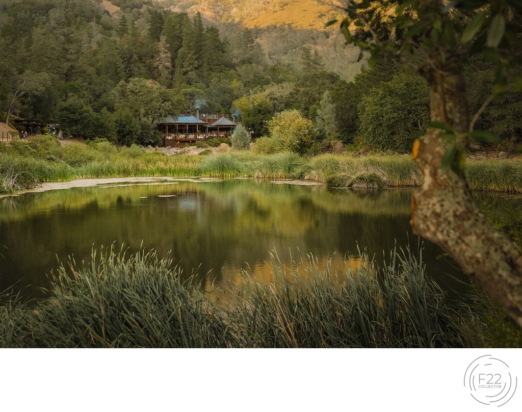 Sacramento Wedding Photography at Calistoga Ranch