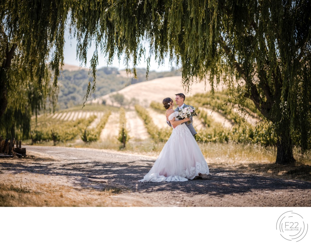 Best Wedding Photography Sacramento Couple Embrace