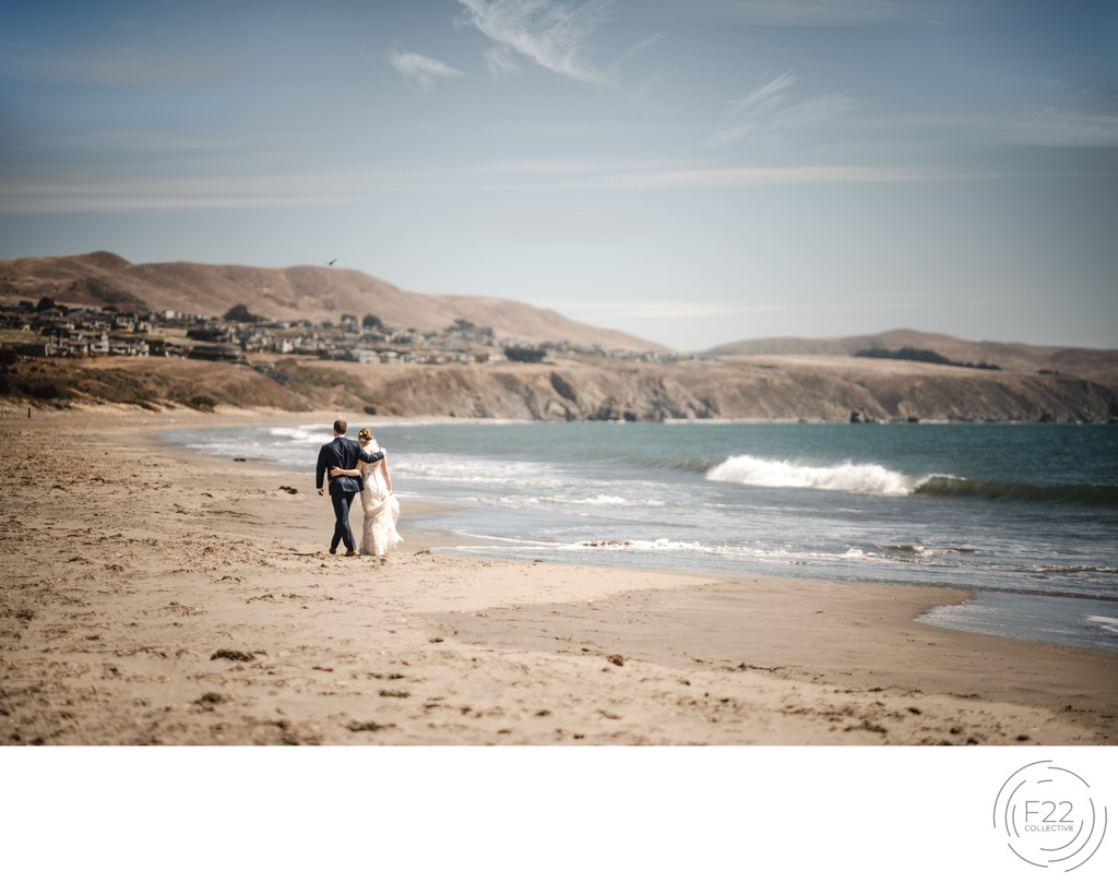 Best Wedding Photographers Sacramento Beach Romantic