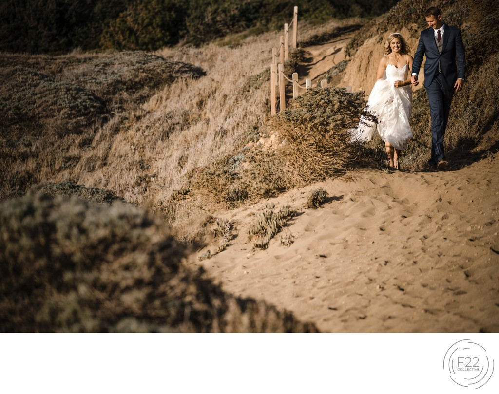 Best Wedding Photographers Sacramento Beach Walk