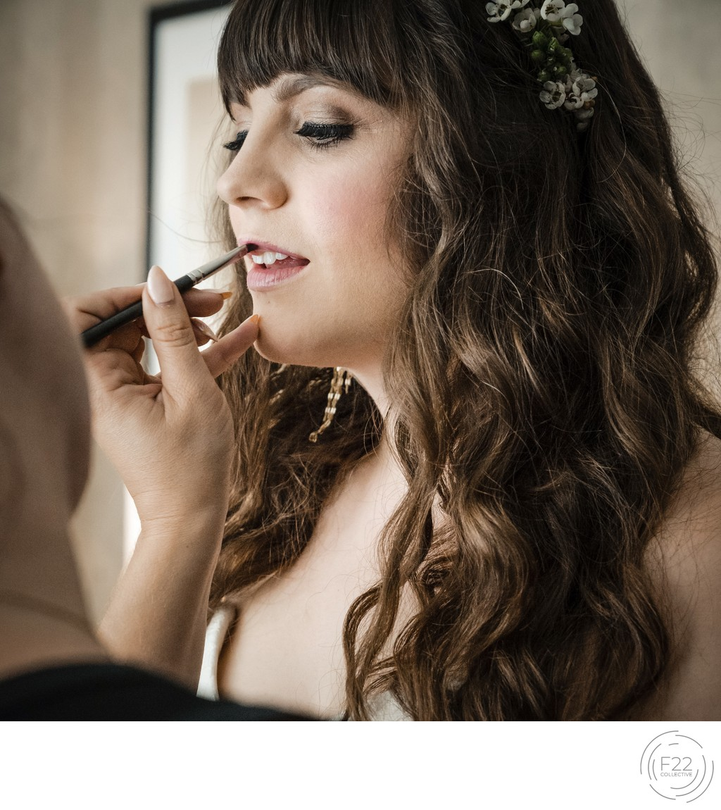 Best Wedding Photographers Sacramento Bride Makeup