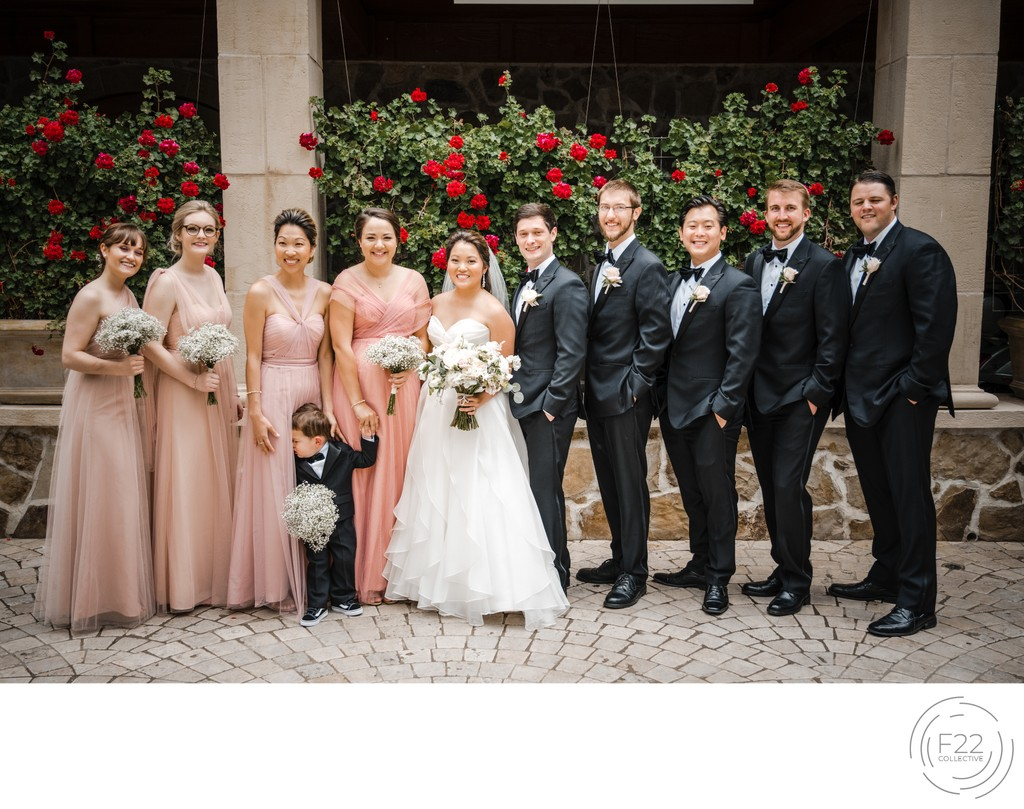 Best Wedding Photography Sacramento Wedding Party