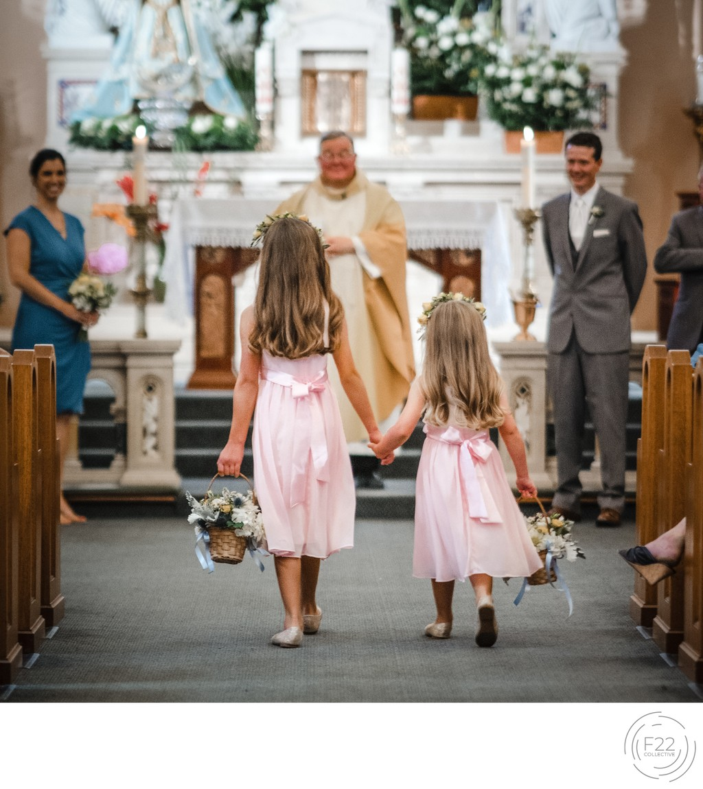 Flower Girls Best Wedding Photographers Sacramento