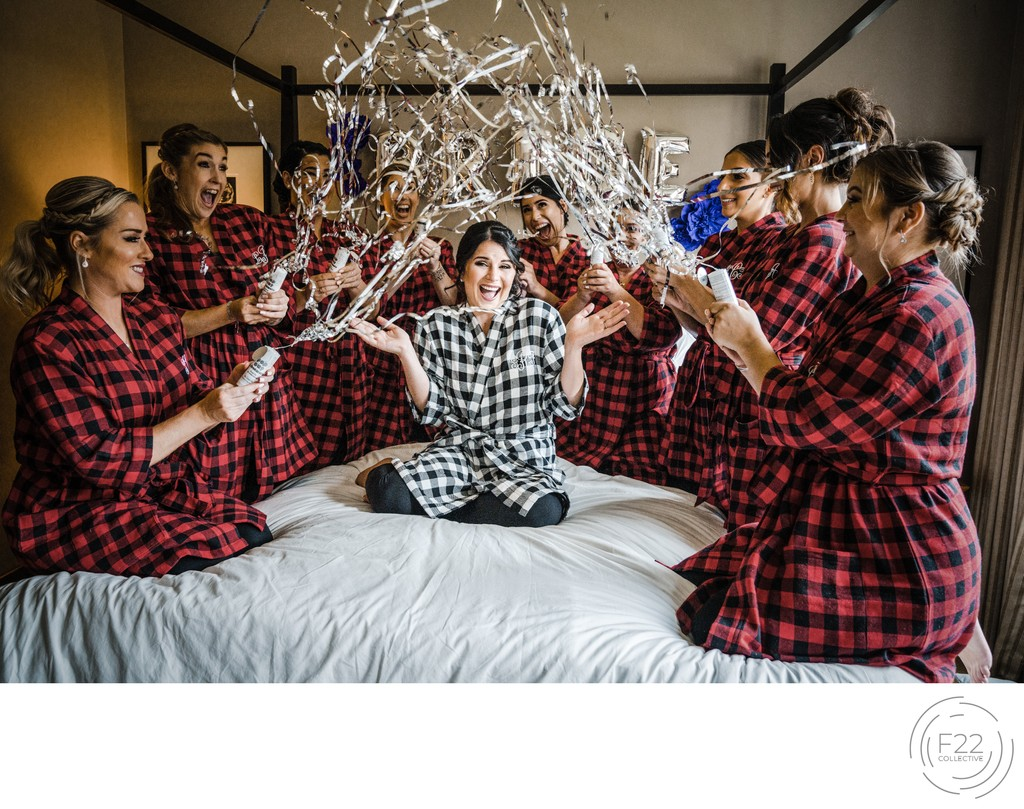 Bridal Party Fun Wedding Photographers Sacramento