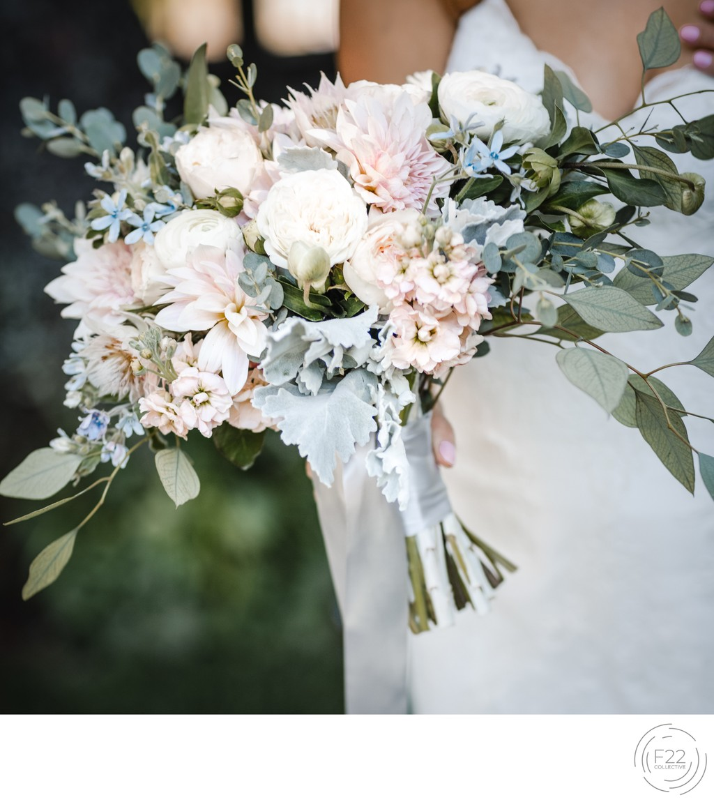 Blush Bouquet Best Wedding Photographers Sacramento