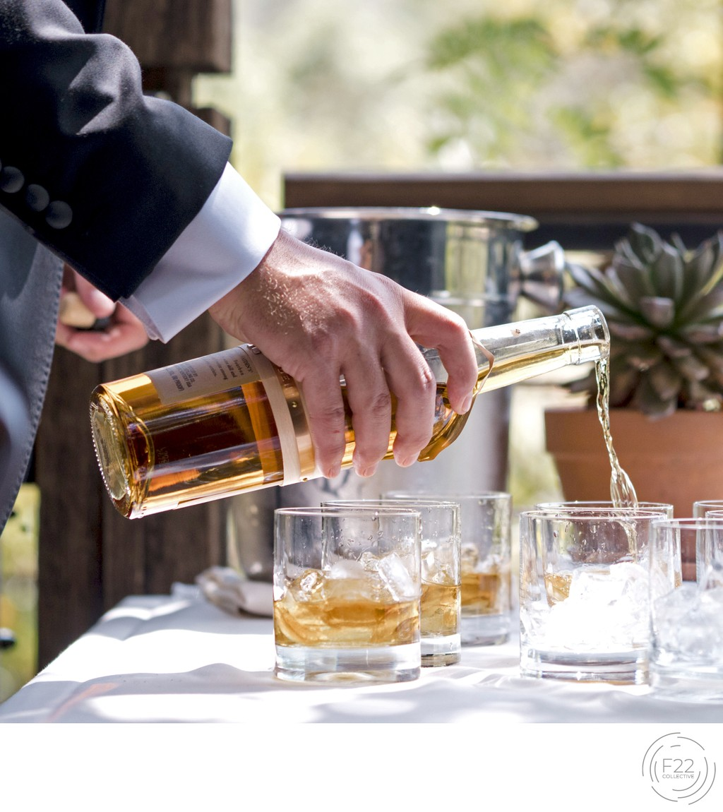 Sacramento Wedding Photographers Whiskey Cocktails