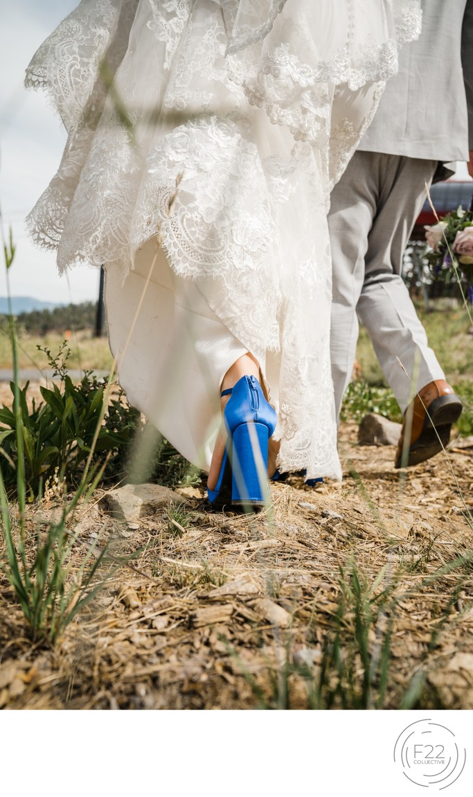 Lake Tahoe Wedding Photographers: Walking Couple