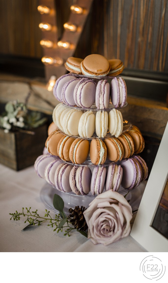 Top Zephyr Lodge Wedding Photography: Wedding Macaroons