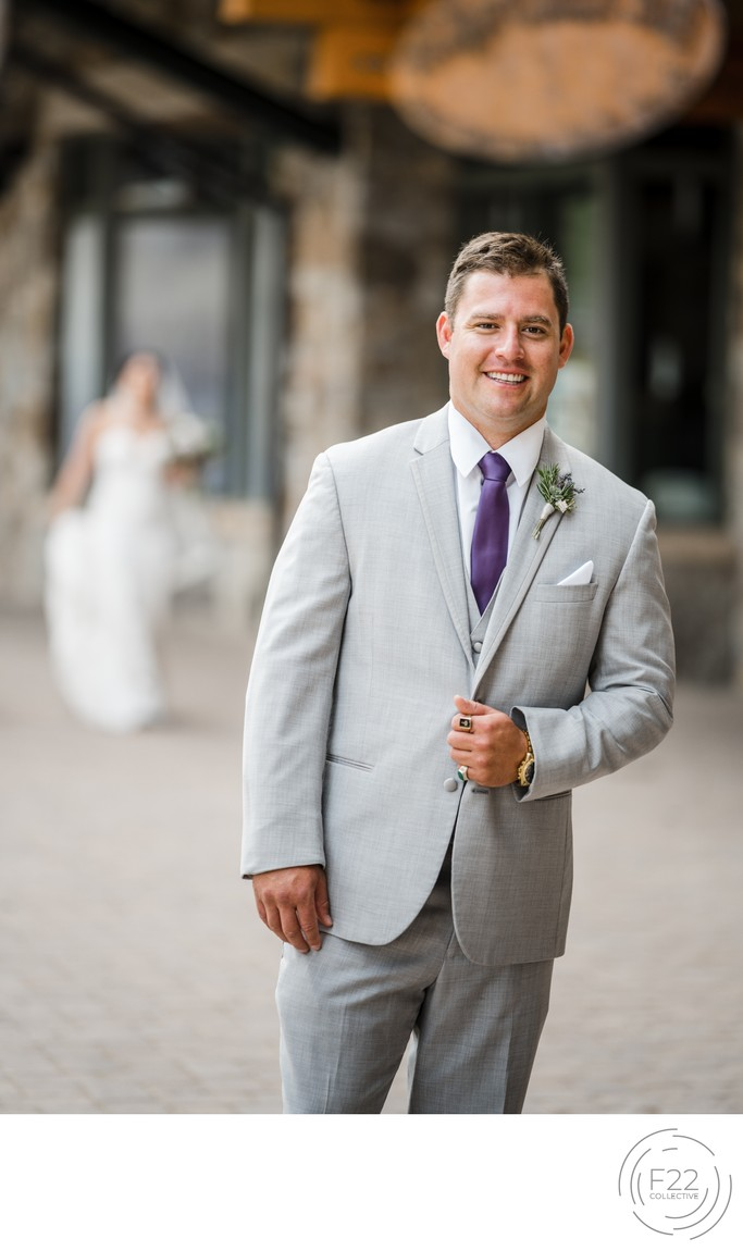 Top Zephyr Lodge Wedding Photographer: First Look