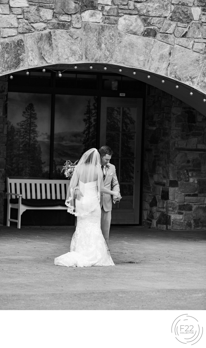 Zephyr Lodge Wedding Photographer: First Look