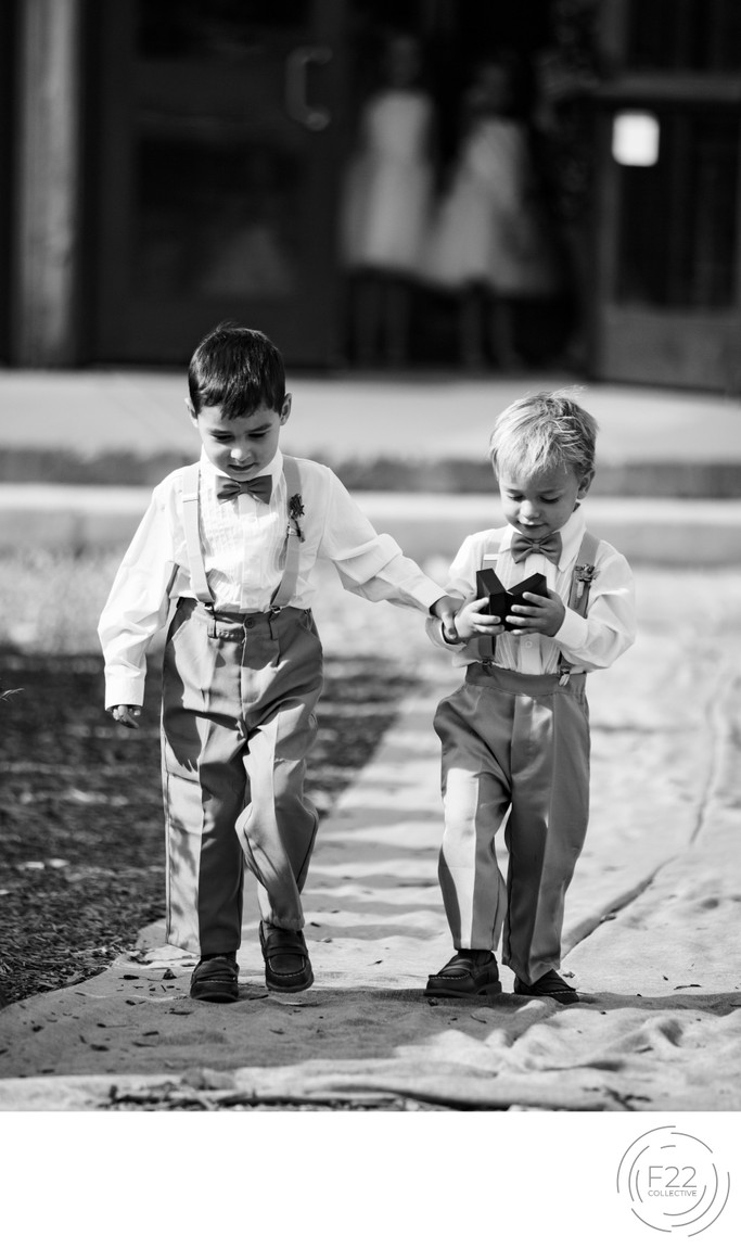 Top Zephyr Lodge Wedding Photographer: Ring Bearers