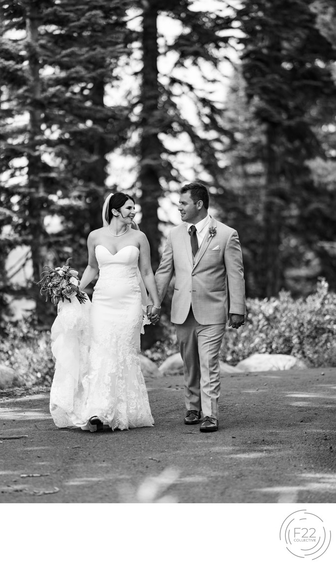 Lake Tahoe Zepher Lodge Wedding Photographers