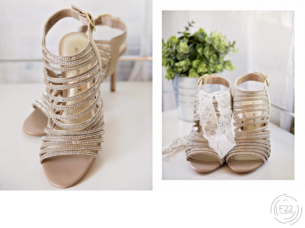 Shoes Old St. Mary's Chapel Intimate Wedding