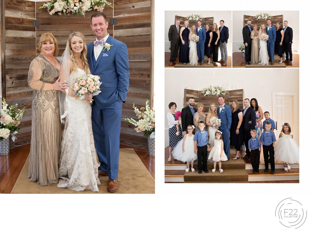 Old St. Mary's Chapel Family Rocklin Photographers