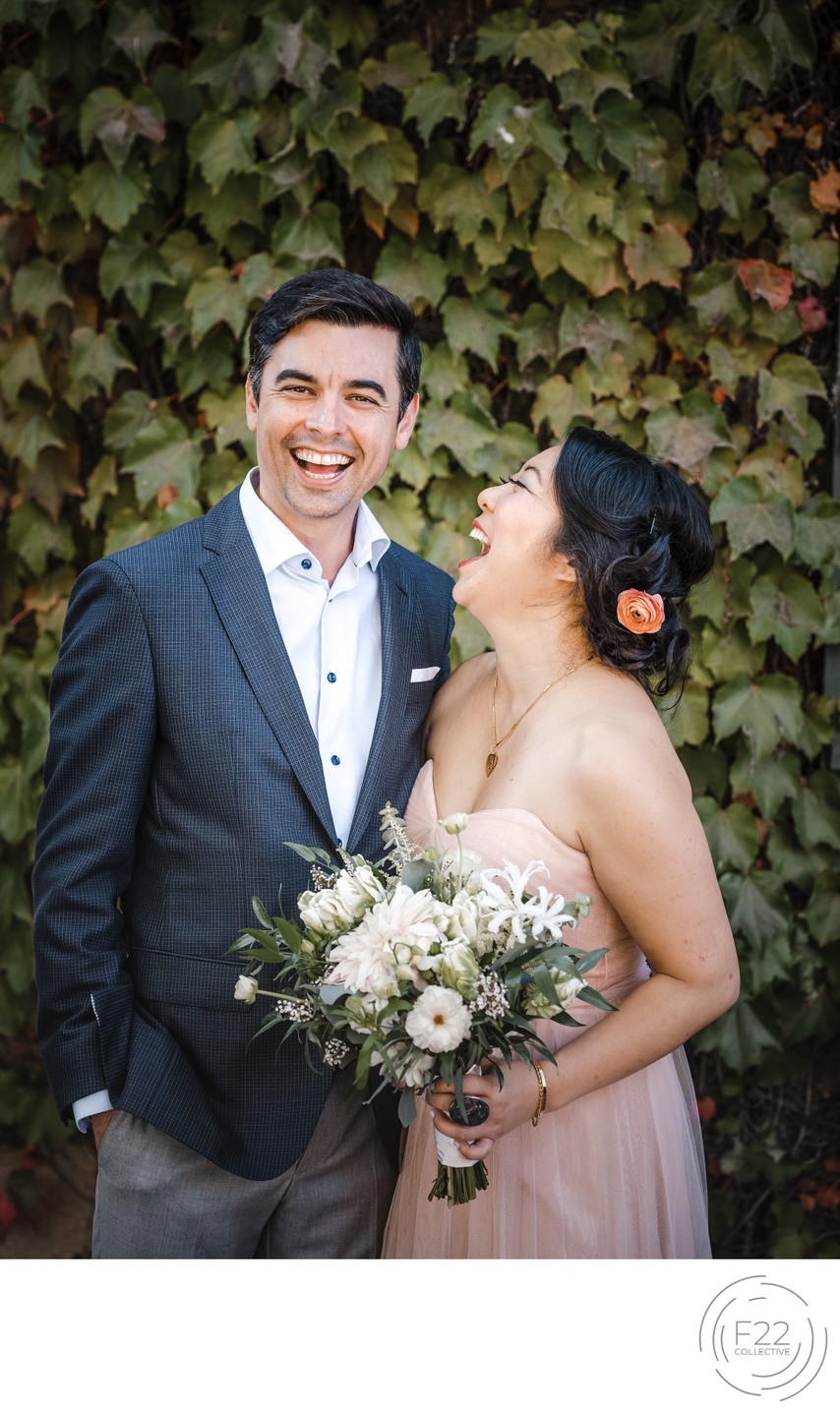 Couple Laughing Best Wedding Photographers Sacramento
