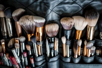 Sacramento Wedding Photographers Wedding Makeup Brushes