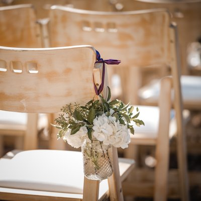 Sacramento Wedding Photographer Outside Reception Decor