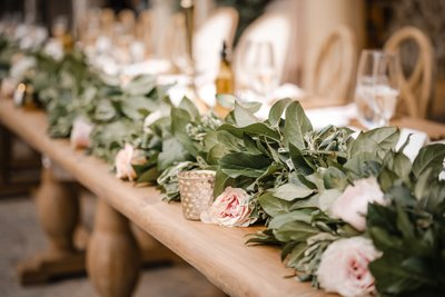 Sacramento Wedding Photographers Reception Decor