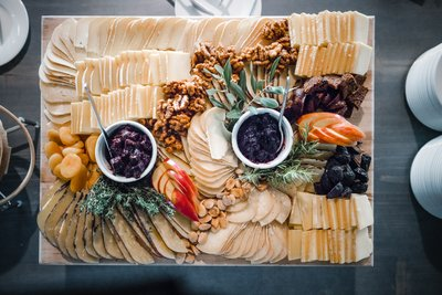 Sacramento Wedding Photographer Fancy Charcuterie Board