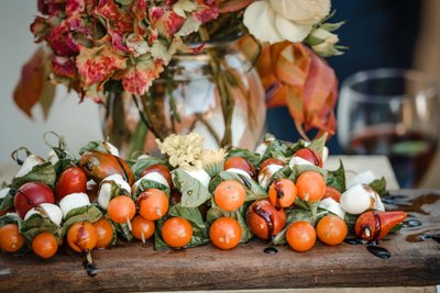 Sacramento Wedding Photographer Fancy Motzorella Tomato