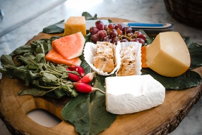 Sacramento Wedding Photographers Cheese Board