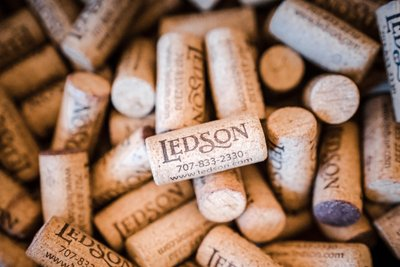 Sacramento Wedding Photographers Wine Corks