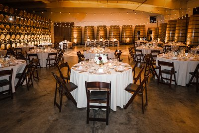 Sacramento Wedding Photographers Reception Room