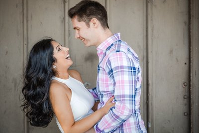 Sacramento Wedding Photographers Engagement Laughter