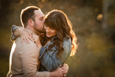 Sacramento Wedding Photographers Sweet Engagement Photo