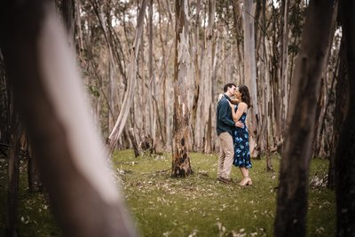 Sacramento Wedding Photographers Woods Engagement