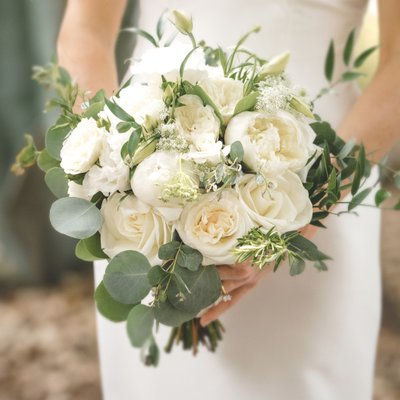 Sacramento Wedding Photographers Bride Bouquet