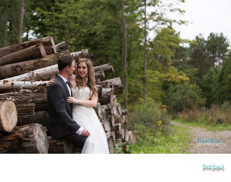 Tiffin Centre for Conservation Wedding Photos