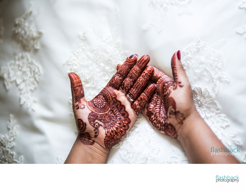 Indian Henna Tattoo Wedding Photography