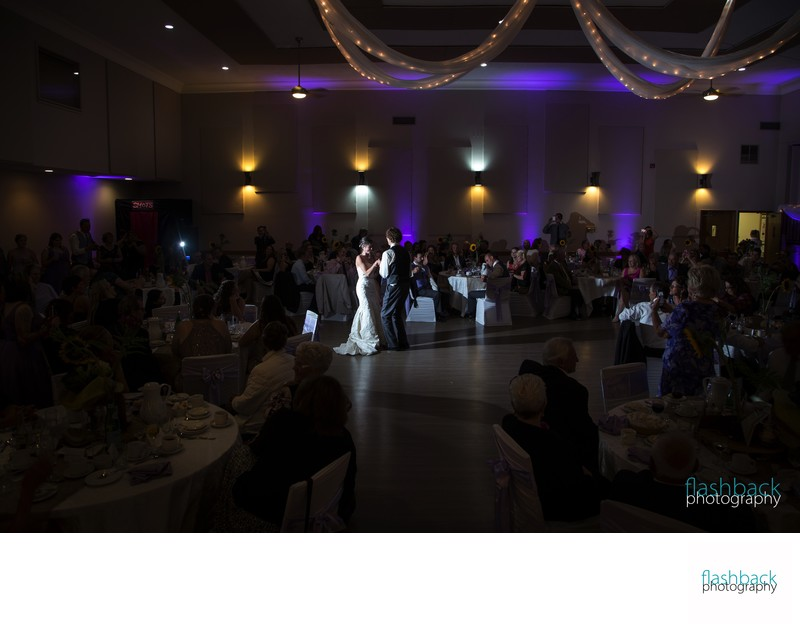 Peterborough Curling Club Wedding Pictures