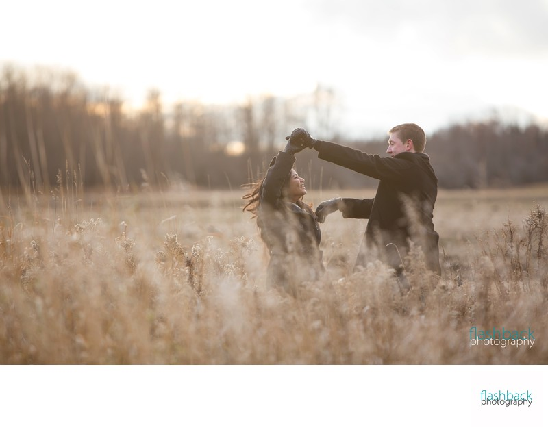 AirPort Engagement Session in Orillia