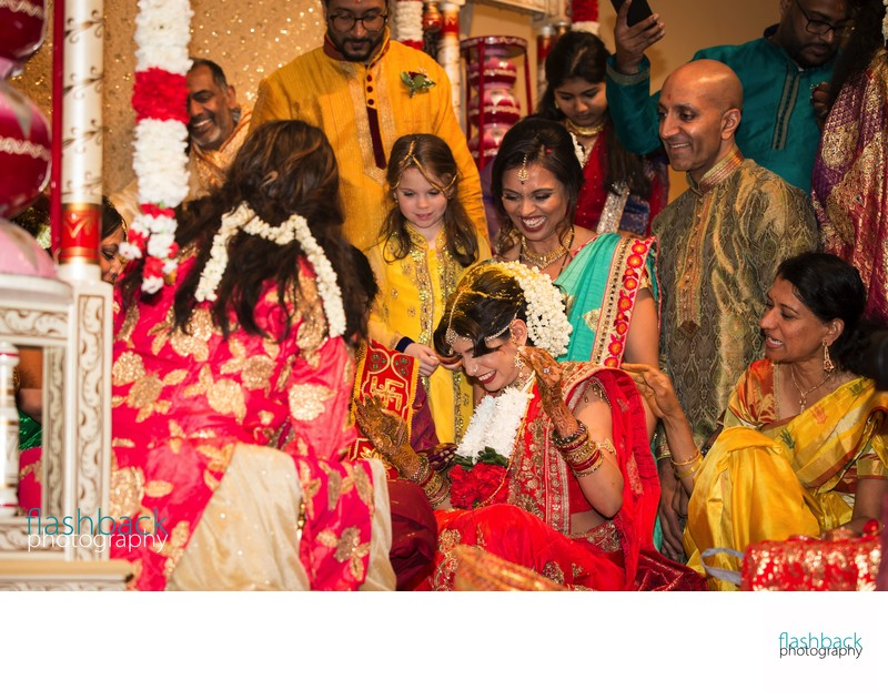 Traditional Indian Culture Family wedding