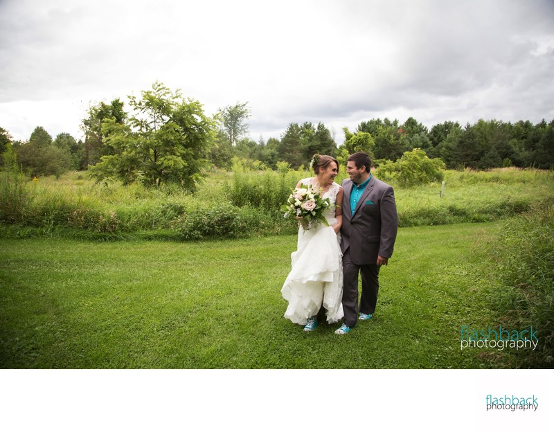 Northbrook Farms Wedding Portrait