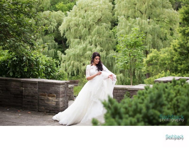 Edward Gardens Wedding Portraits