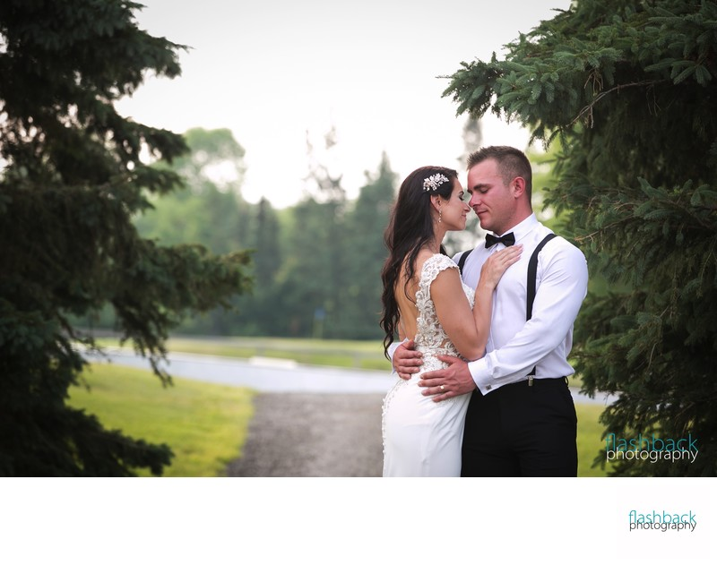 Horseshoe Resort Wedding Portraits