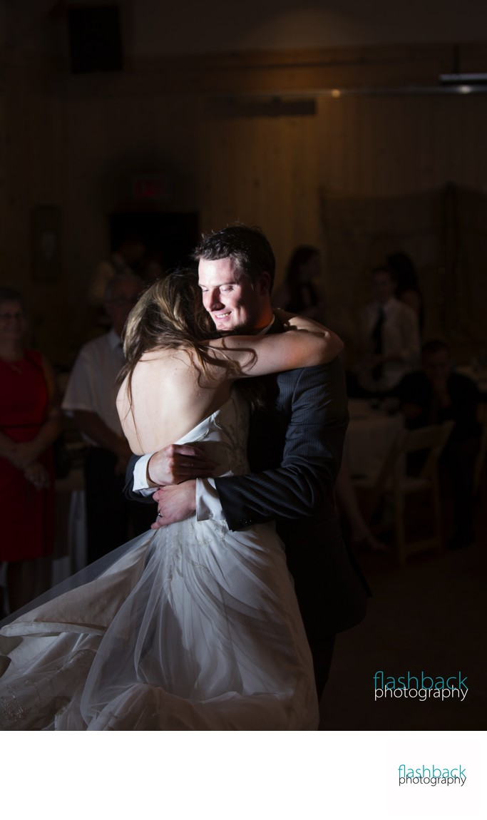 First Dance Wedding Photo at Tiffin Centre, Barrie