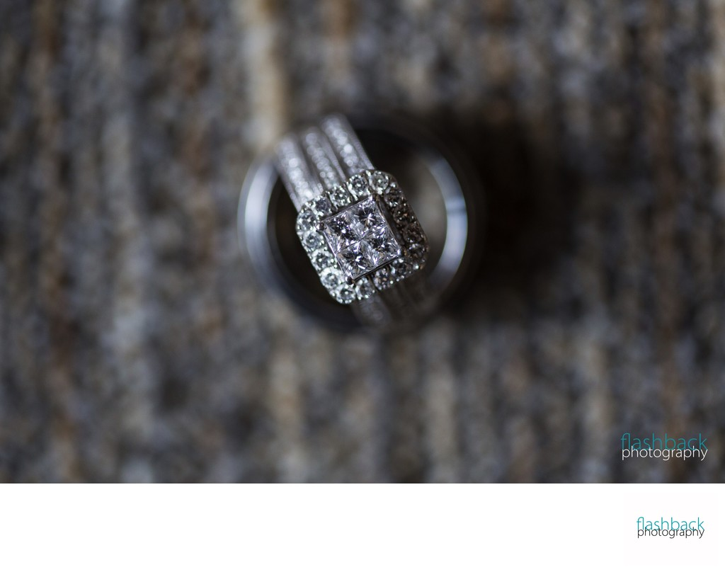 Photographing Rings on a Wedding Day
