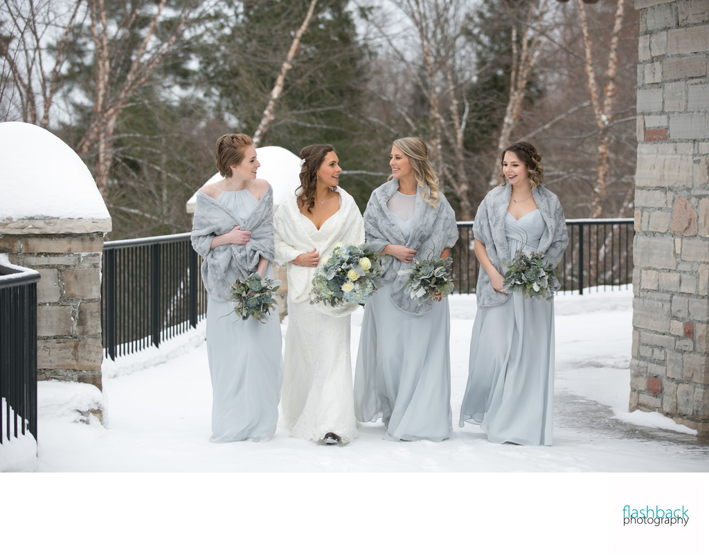 Deerhurst Resort Winter Wedding